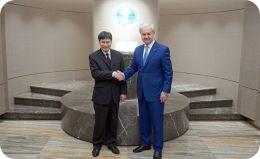 ШОС и АСЕАН продолжают диалог: Генеральные секретари двух организаций провели рабочую встречу в Штаб-квартире ШОС в Пекине