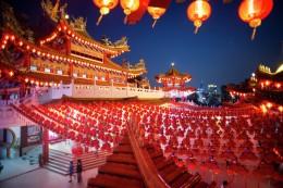 В Китае наступил традиционный Новый год