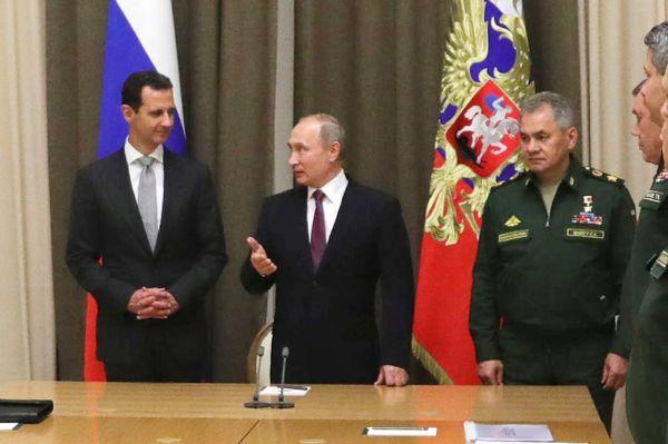 Россия завершает военную операцию в Сирии