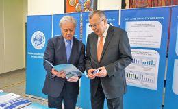 В Венском отделении ООН открылся информационный стенд ШОС