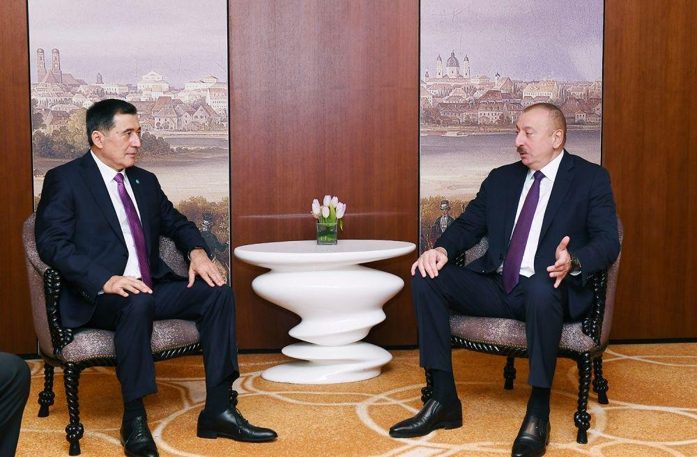Secretary General of the Shanghai Cooperation Organization (SCO) Vladimir Norov has met with President of Azerbaijan Ilham Aliyev